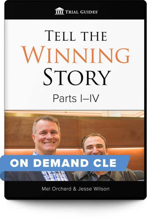 Tell the Winning Story Package On Demand